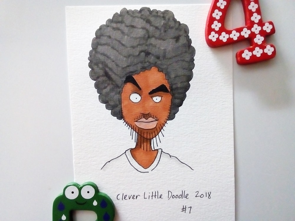 Grey Faulkes - profile picture - Copic markers
